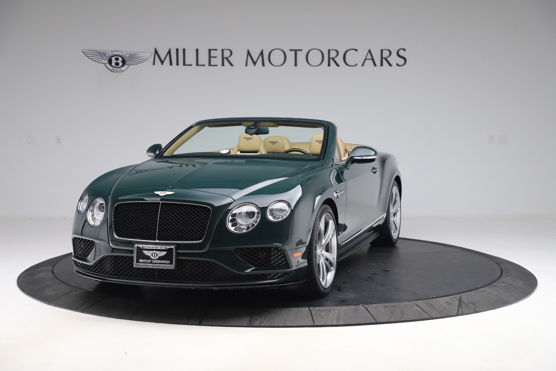 Used 2017 Bentley Continental GTC V8 S for sale Sold at Bugatti of Greenwich in Greenwich CT 06830 1