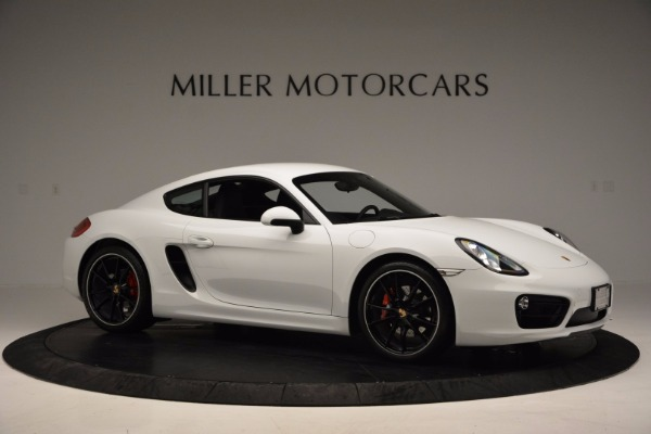 Used 2014 Porsche Cayman S for sale Sold at Bugatti of Greenwich in Greenwich CT 06830 10