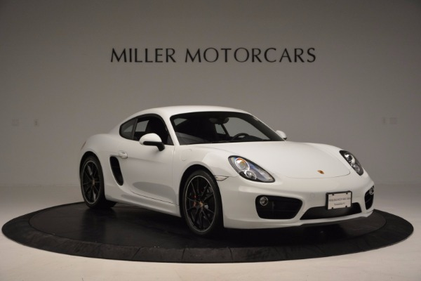 Used 2014 Porsche Cayman S for sale Sold at Bugatti of Greenwich in Greenwich CT 06830 11