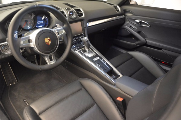 Used 2014 Porsche Cayman S for sale Sold at Bugatti of Greenwich in Greenwich CT 06830 13