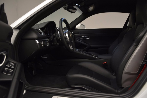 Used 2014 Porsche Cayman S for sale Sold at Bugatti of Greenwich in Greenwich CT 06830 14