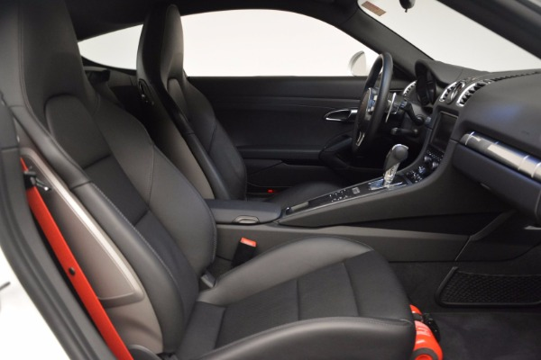 Used 2014 Porsche Cayman S for sale Sold at Bugatti of Greenwich in Greenwich CT 06830 17