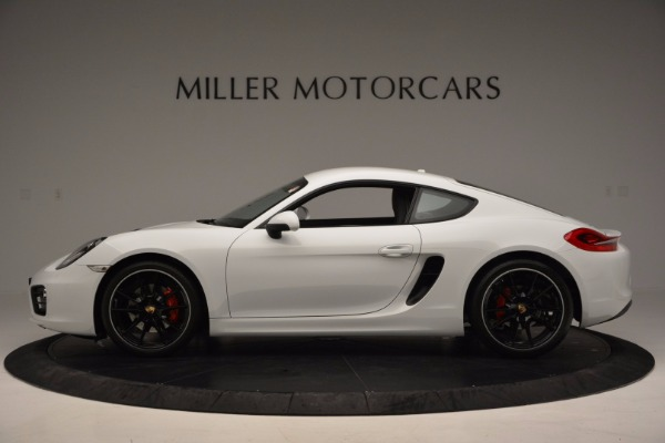 Used 2014 Porsche Cayman S for sale Sold at Bugatti of Greenwich in Greenwich CT 06830 3