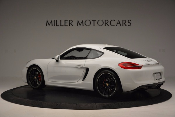 Used 2014 Porsche Cayman S for sale Sold at Bugatti of Greenwich in Greenwich CT 06830 4