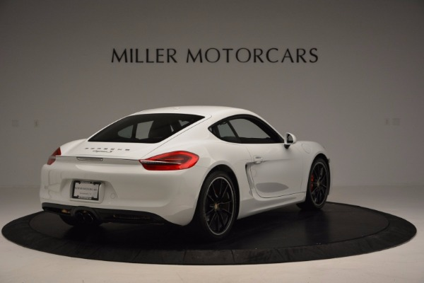 Used 2014 Porsche Cayman S for sale Sold at Bugatti of Greenwich in Greenwich CT 06830 7