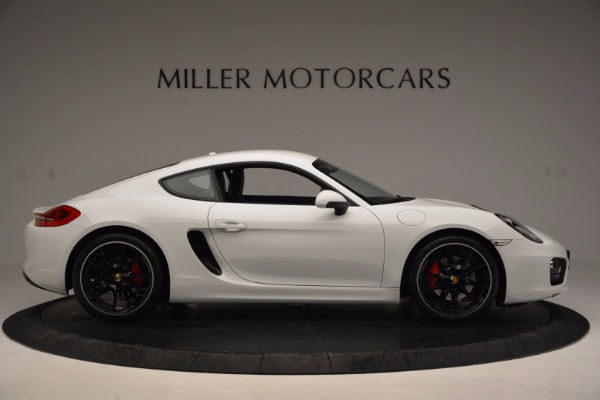 Used 2014 Porsche Cayman S for sale Sold at Bugatti of Greenwich in Greenwich CT 06830 9