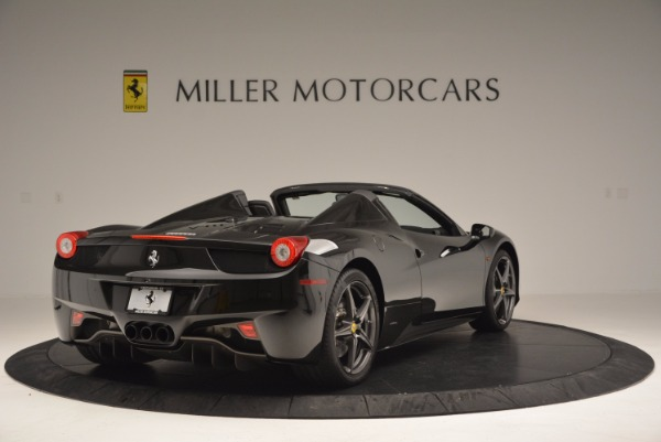 Used 2015 Ferrari 458 Spider for sale Sold at Bugatti of Greenwich in Greenwich CT 06830 7
