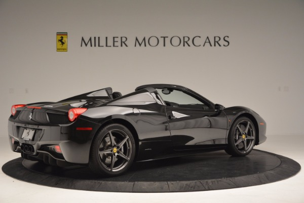 Used 2015 Ferrari 458 Spider for sale Sold at Bugatti of Greenwich in Greenwich CT 06830 8