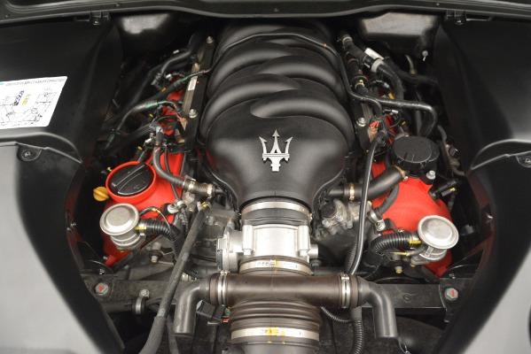 Used 2017 Maserati GranTurismo GT Sport Special Edition for sale Sold at Bugatti of Greenwich in Greenwich CT 06830 24
