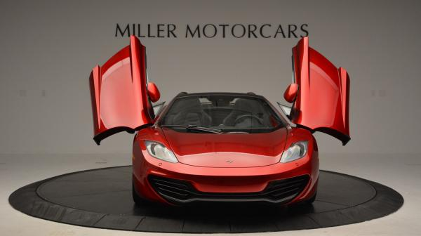 Used 2013 McLaren 12C Spider for sale Sold at Bugatti of Greenwich in Greenwich CT 06830 13