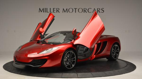 Used 2013 McLaren 12C Spider for sale Sold at Bugatti of Greenwich in Greenwich CT 06830 14