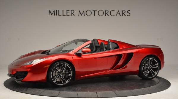 Used 2013 McLaren 12C Spider for sale Sold at Bugatti of Greenwich in Greenwich CT 06830 2