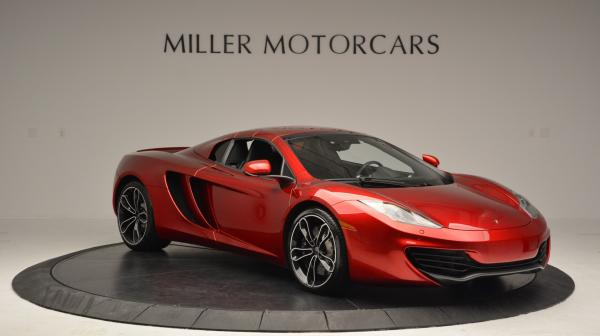 Used 2013 McLaren 12C Spider for sale Sold at Bugatti of Greenwich in Greenwich CT 06830 21