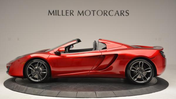 Used 2013 McLaren 12C Spider for sale Sold at Bugatti of Greenwich in Greenwich CT 06830 3
