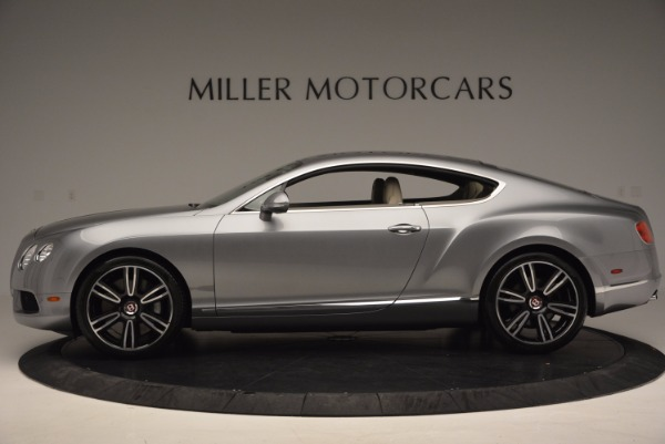Used 2014 Bentley Continental GT V8 for sale Sold at Bugatti of Greenwich in Greenwich CT 06830 3