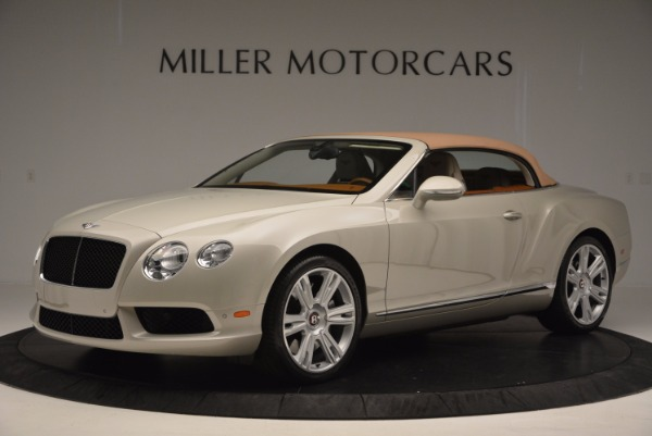 Used 2013 Bentley Continental GTC V8 for sale Sold at Bugatti of Greenwich in Greenwich CT 06830 15