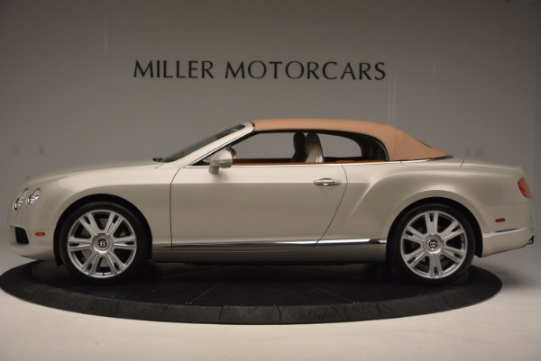 Used 2013 Bentley Continental GTC V8 for sale Sold at Bugatti of Greenwich in Greenwich CT 06830 16