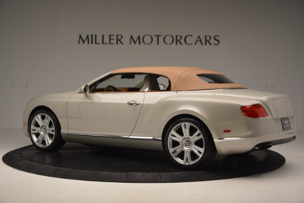 Used 2013 Bentley Continental GTC V8 for sale Sold at Bugatti of Greenwich in Greenwich CT 06830 17