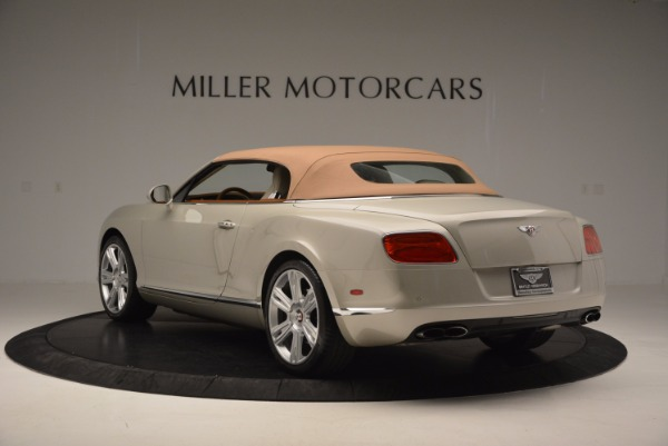 Used 2013 Bentley Continental GTC V8 for sale Sold at Bugatti of Greenwich in Greenwich CT 06830 18