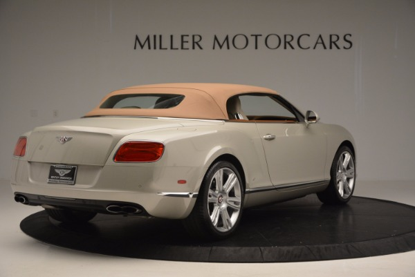 Used 2013 Bentley Continental GTC V8 for sale Sold at Bugatti of Greenwich in Greenwich CT 06830 20
