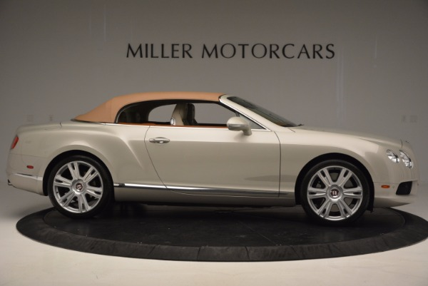 Used 2013 Bentley Continental GTC V8 for sale Sold at Bugatti of Greenwich in Greenwich CT 06830 22