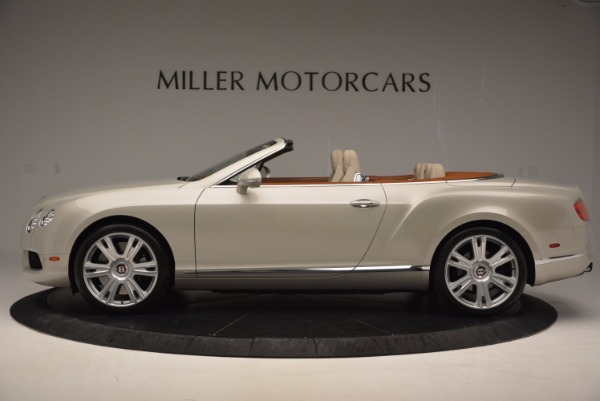 Used 2013 Bentley Continental GTC V8 for sale Sold at Bugatti of Greenwich in Greenwich CT 06830 3