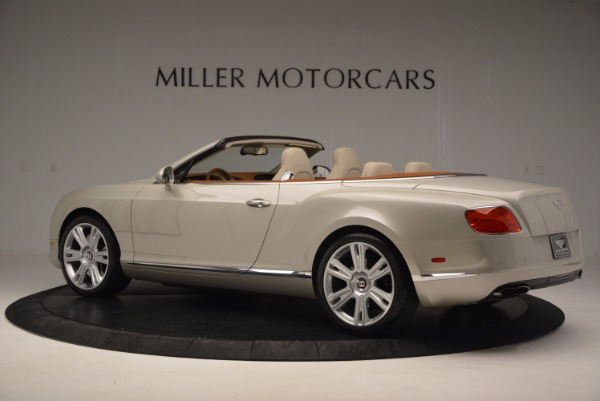 Used 2013 Bentley Continental GTC V8 for sale Sold at Bugatti of Greenwich in Greenwich CT 06830 4