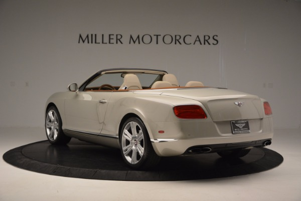 Used 2013 Bentley Continental GTC V8 for sale Sold at Bugatti of Greenwich in Greenwich CT 06830 5