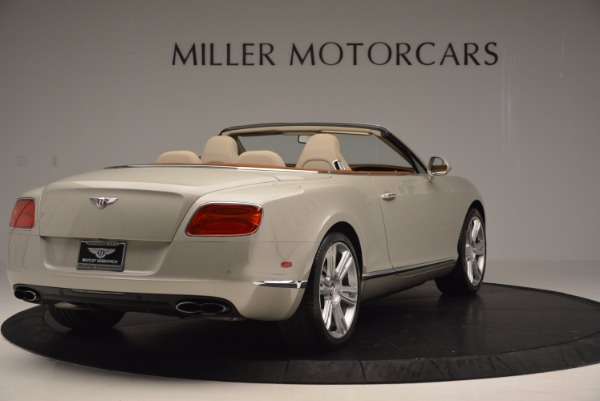 Used 2013 Bentley Continental GTC V8 for sale Sold at Bugatti of Greenwich in Greenwich CT 06830 7