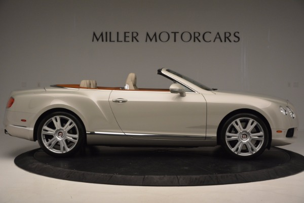 Used 2013 Bentley Continental GTC V8 for sale Sold at Bugatti of Greenwich in Greenwich CT 06830 9