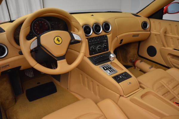 Used 2005 Ferrari Superamerica 6-Speed Manual for sale Sold at Bugatti of Greenwich in Greenwich CT 06830 25