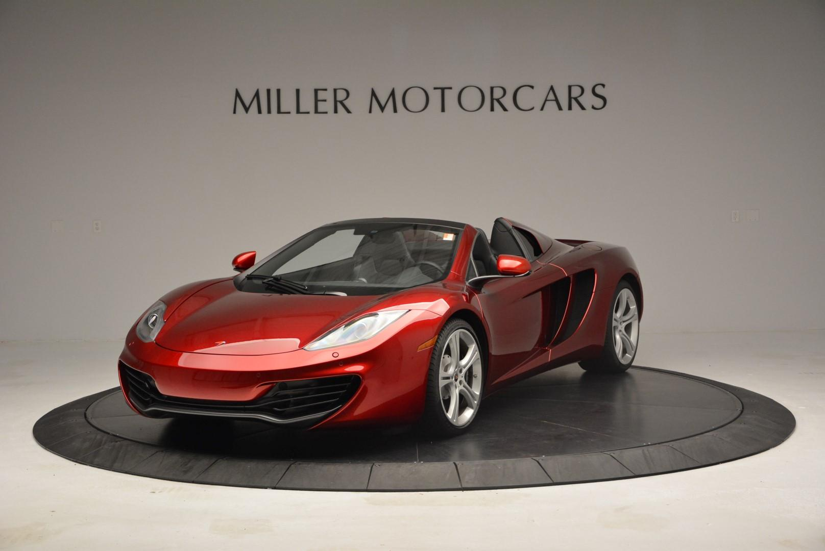 Used 2013 McLaren 12C Spider for sale Sold at Bugatti of Greenwich in Greenwich CT 06830 1
