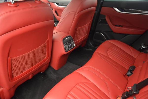 Used 2017 Maserati Levante S Q4 for sale Sold at Bugatti of Greenwich in Greenwich CT 06830 17