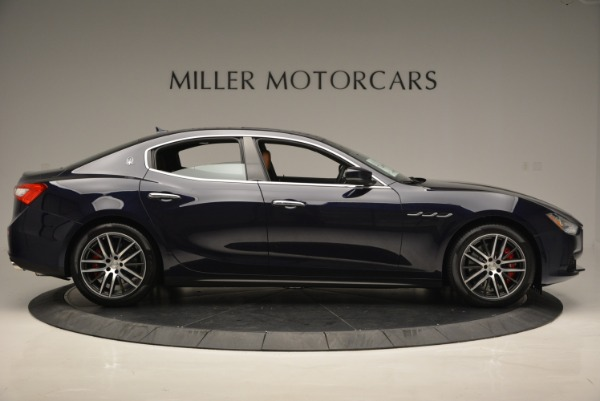 Used 2017 Maserati Ghibli S Q4 for sale $44,900 at Bugatti of Greenwich in Greenwich CT 06830 9