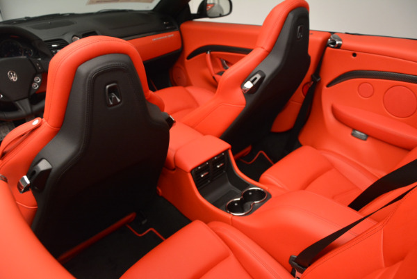 New 2017 Maserati GranTurismo Cab Sport for sale Sold at Bugatti of Greenwich in Greenwich CT 06830 27