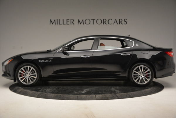 New 2017 Maserati Quattroporte S Q4 for sale Sold at Bugatti of Greenwich in Greenwich CT 06830 3