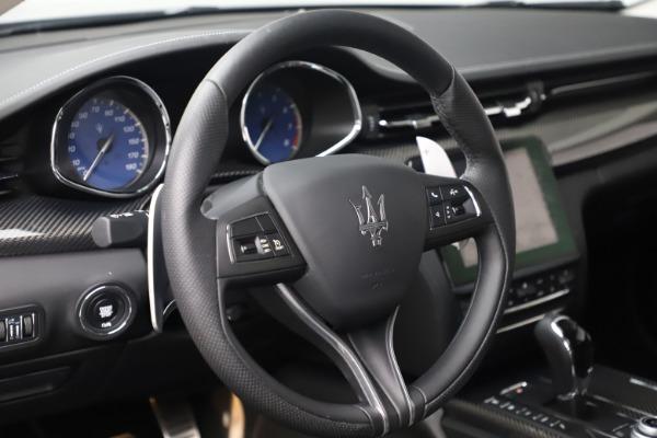 Used 2017 Maserati Quattroporte S Q4 GranSport for sale $57,900 at Bugatti of Greenwich in Greenwich CT 06830 16