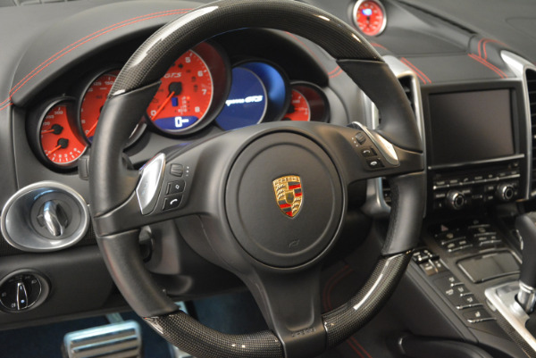 Used 2014 Porsche Cayenne GTS for sale Sold at Bugatti of Greenwich in Greenwich CT 06830 19