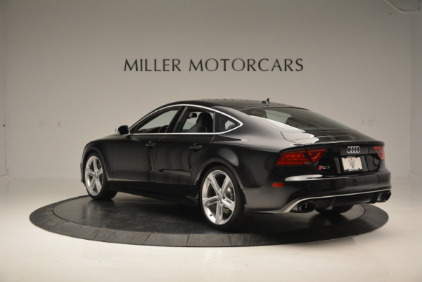 Used 2014 Audi RS 7 4.0T quattro Prestige for sale Sold at Bugatti of Greenwich in Greenwich CT 06830 5