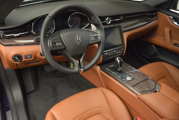 New 2017 Maserati Quattroporte S Q4 GranLusso for sale Sold at Bugatti of Greenwich in Greenwich CT 06830 15