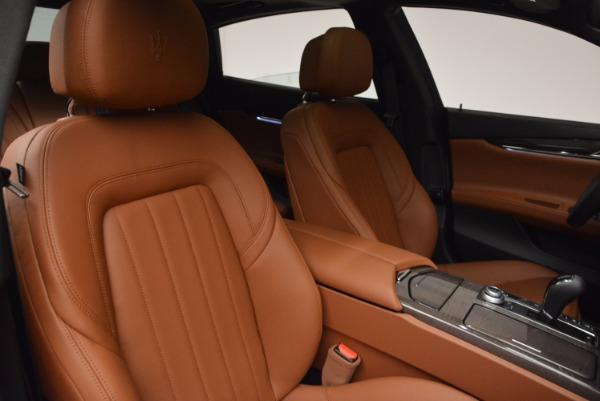 New 2017 Maserati Quattroporte S Q4 GranLusso for sale Sold at Bugatti of Greenwich in Greenwich CT 06830 19