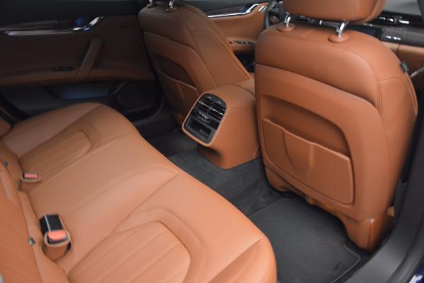 New 2017 Maserati Quattroporte S Q4 GranLusso for sale Sold at Bugatti of Greenwich in Greenwich CT 06830 23