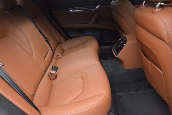New 2017 Maserati Quattroporte S Q4 GranLusso for sale Sold at Bugatti of Greenwich in Greenwich CT 06830 24