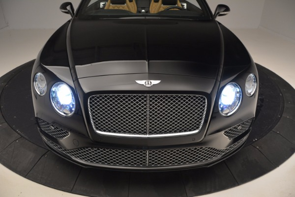 Used 2016 Bentley Continental GT Speed Convertible for sale Sold at Bugatti of Greenwich in Greenwich CT 06830 22