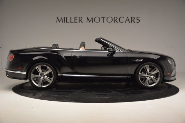 Used 2016 Bentley Continental GT Speed Convertible for sale Sold at Bugatti of Greenwich in Greenwich CT 06830 9