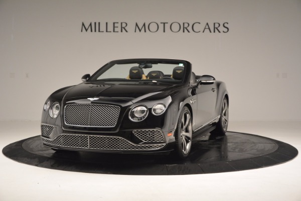 Used 2016 Bentley Continental GT Speed Convertible for sale Sold at Bugatti of Greenwich in Greenwich CT 06830 1