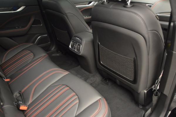 New 2017 Maserati Levante S for sale Sold at Bugatti of Greenwich in Greenwich CT 06830 27