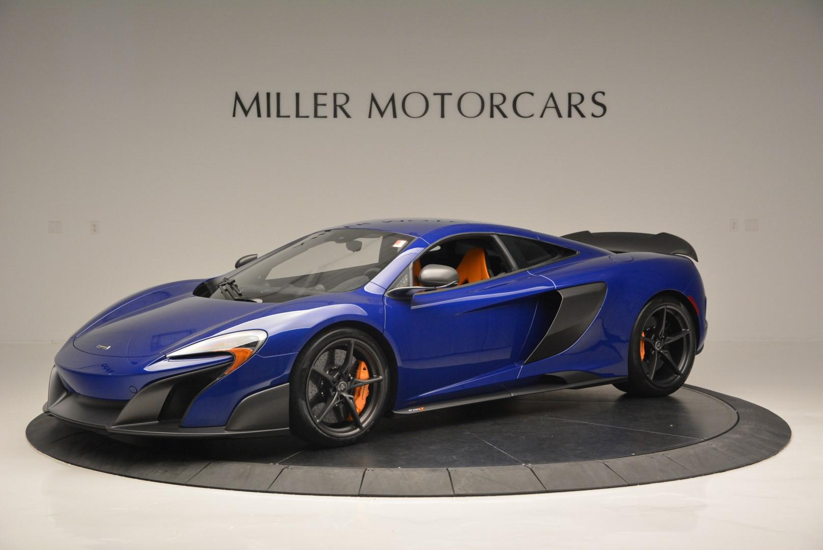 Used 2016 McLaren 675LT Coupe for sale Sold at Bugatti of Greenwich in Greenwich CT 06830 1
