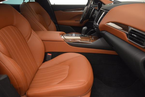 Used 2017 Maserati Levante S for sale Sold at Bugatti of Greenwich in Greenwich CT 06830 27