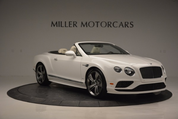 New 2017 Bentley Continental GT Speed Convertible for sale Sold at Bugatti of Greenwich in Greenwich CT 06830 11
